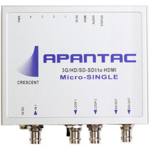Apantac Micro-Single 3G to HDMI/SDI Scaler / Converter