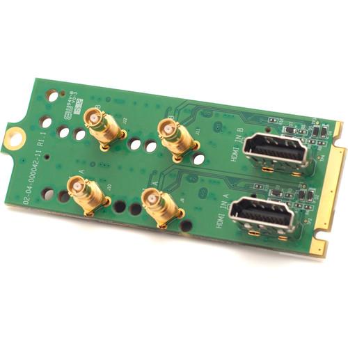 Apantac Triple-Rate 1 x 4 SDI Distribution Amplifier with Passive Loop-Output
