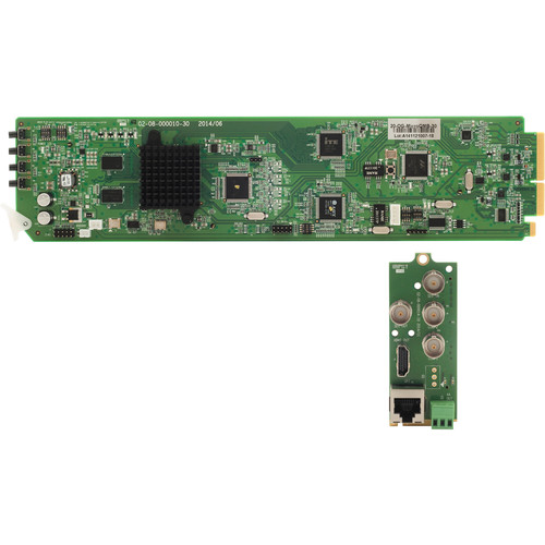 Apantac SDI to HDMI/DVI Converter with OSD Card and Rear Module Set for openGear 3.0 Frame
