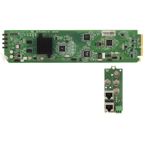 Apantac SDI to HDMI/DVI Converter with OSD Card and RMx Rear Module Set for openGear 3.0 Frame