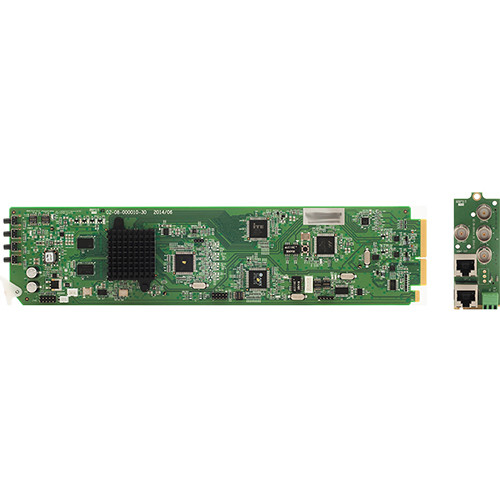 Apantac Up/Down/Cross Converter Card and RMx Rear Module Set for openGear 3.0 Frame