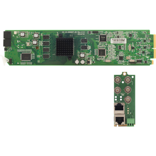 Apantac Cascadable Video Quad Splitter Card and RMx Rear Module Set for openGear 3.0 Frame
