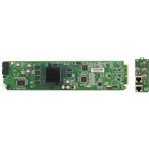 Apantac SDI to HDMI/DVI Converter/Scaler with Loudness Monitoring Card and RMx Rear Module Set for openGear 3.0 Frame
