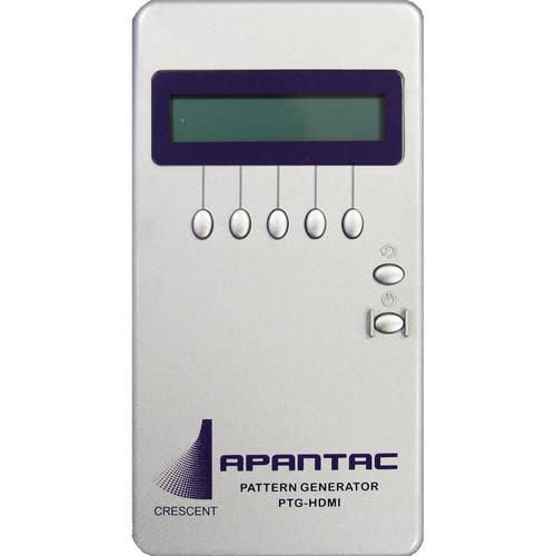 Apantac HDMI Test Pattern Generator with 34 Patterns and up to UXGA/1080p Resolution