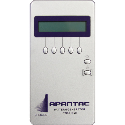 Apantac HDMI Test Pattern Generator with 34 Patterns and up to UXGA/1080p Resolution