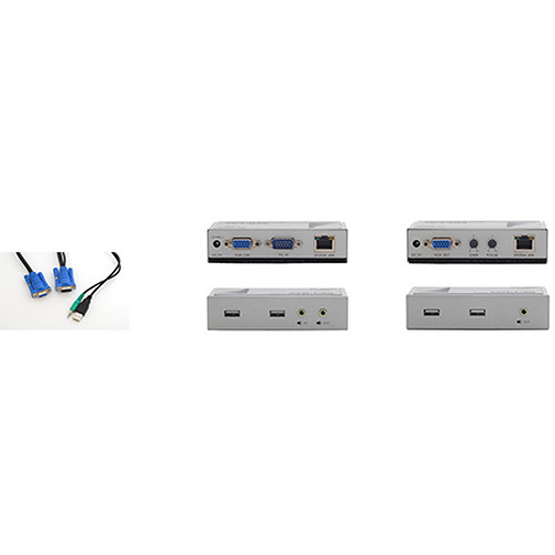 Apantac Touch Screen Extender Set with VGA, Audio, and USB (Data)