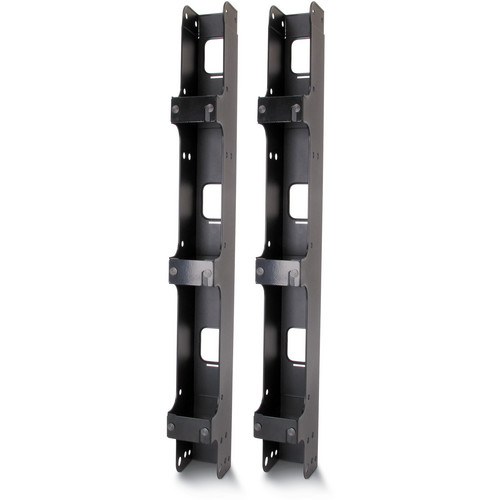 "APC Vertical Cable Organizer for 2 & 4 Post Racks (3"" Wide, Black)"