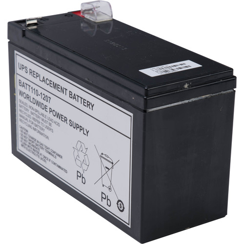 WORLDWIDE POWER SUPPLY Replacement Battery #110