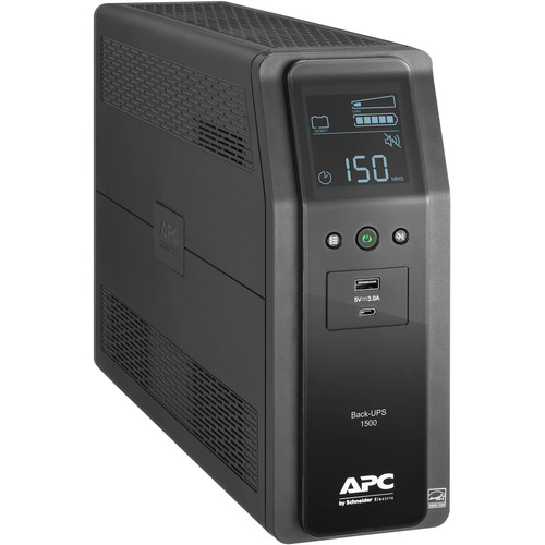 APC Back-UPS Pro BN 1500VA Battery Backup & Surge Protector