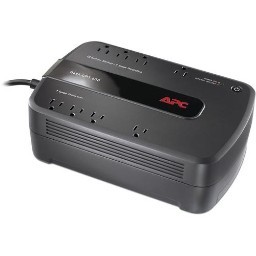 APC BN600G Back-UPS NS 8-Outlet 600VA Surge Protector and Battery Backup