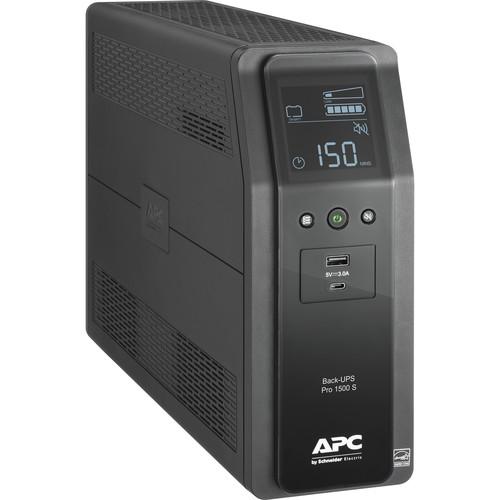 APC Back-UPS Pro BR 1500VA Battery Backup & Surge Protector