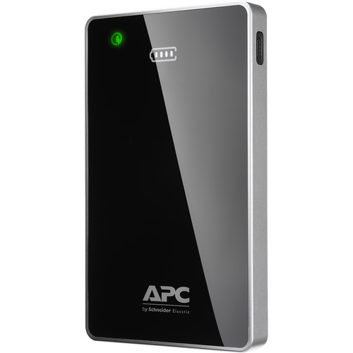 APC 12,000mAh Mobile Power Pack with Two USB Ports (Black)