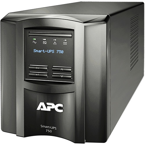 APC Smart-UPS SMT750C Battery Backup & Surge Protector with SmartConnect