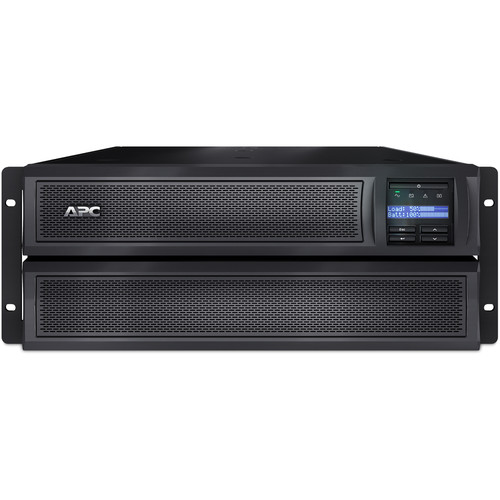 APC Smart-UPS X 3000VA Rackmount/Tower 4RU with LCD (100-127V)