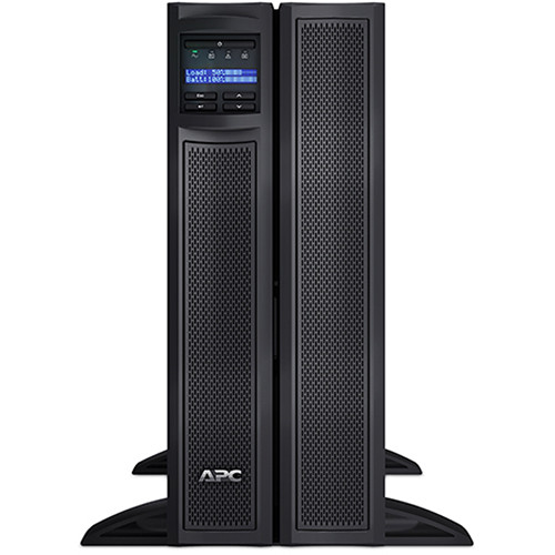 APC Smart-UPS X 100-127V Rack/Tower with LCD & Network Card (3000VA)