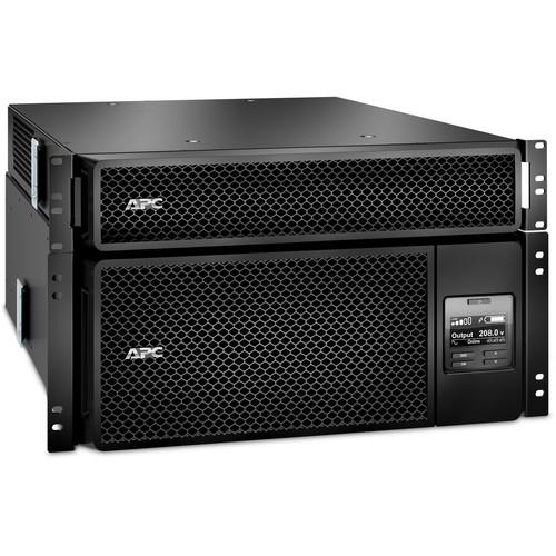 APC Smart-UPS SRT 6000VA RM with 208V to 120V 2U Step-Down Transformer