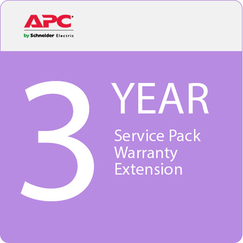 APC Service Pack 3-Year Warranty Extension (for New Product Purchases)