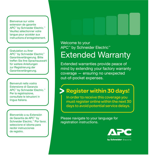APC Service Pack Warranty Extension (3-Years)