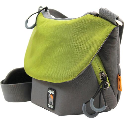 Ape Case Compact Tech Messenger Case (Grey & Green)