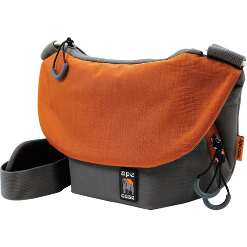 Ape Case Compact Tech Messenger Case (Grey & Orange)