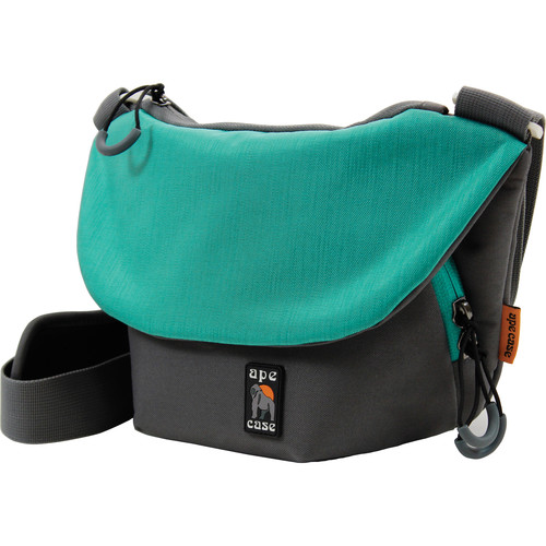 Ape Case Compact Tech Messenger Case (Gray & Teal)