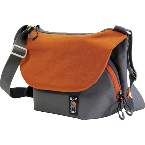 Ape Case Large Tech Messenger Case (Grey & Orange)