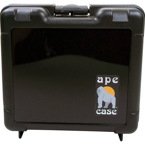 Ape Case Medium Multipurpose Lightweight Hard Case with Foam Inserts (Black)