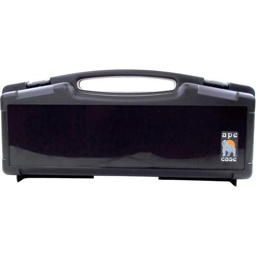Ape Case Large Multipurpose Lightweight Hard Case with Foam Inserts (Black)