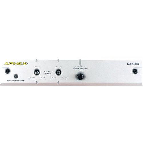 Aphex Model 124B 2-Channel Audio Level Interface
