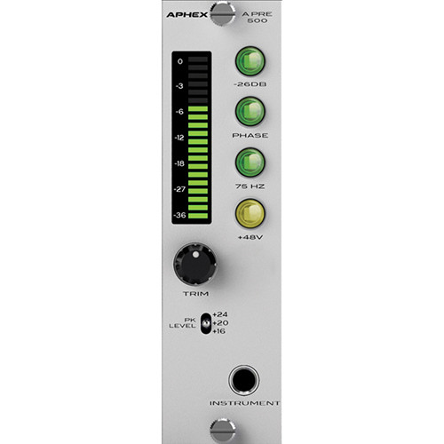 Aphex A PRE 500 500-Series Microphone Preamplifier