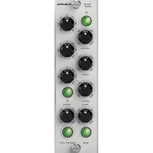 Aphex EQF 500 500-Series 3-Band Semi-Parametric EQ