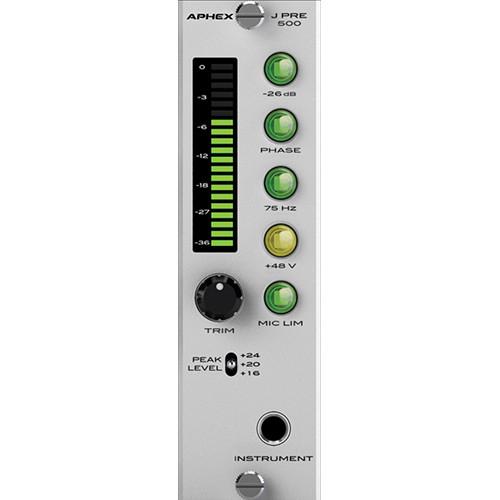 Aphex J PRE 500 500-Series Microphone Preamplifier