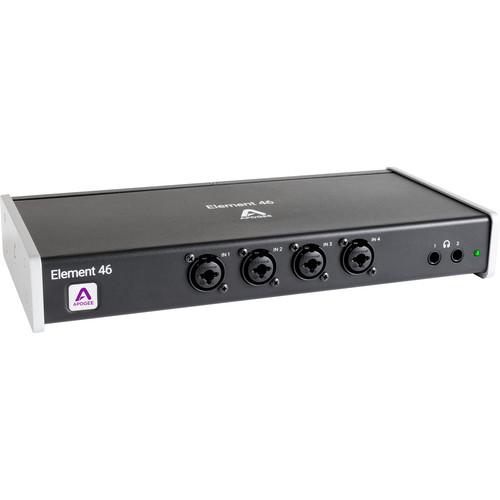 Apogee Electronics Element 46 12x14 Thunderbolt Audio I/O Box for Mac