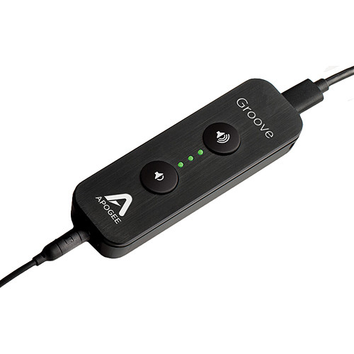 Apogee Electronics Groove - 24-Bit 192 kHz USB DAC and Headphone Amplifier For Mac and PC