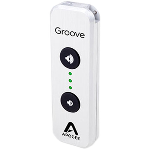 Apogee Electronics Groove - 24-Bit 192 kHz USB DAC and Headphone Amplifier For Mac and PC (30th Anniversary Edition, Silver)