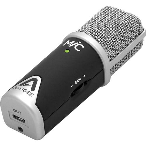 Apogee Electronics MiC 96K USB Microphone for Mac & iOS Devices