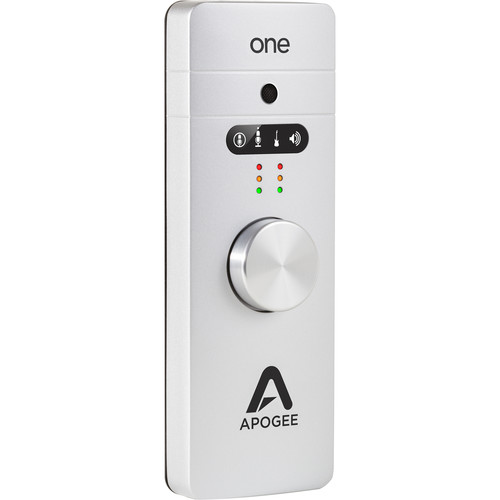 Apogee Electronics ONE Ultracompact 2x2 USB Audio Interface with Built-In Microphone
