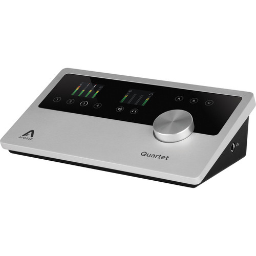 Apogee Electronics Quartet for iPad & Mac - Multi-Channel USB 2.0 Audio Interface