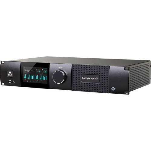 Apogee Electronics Symphony I/O Mk II Dante / Pro Tools Audio Interface with 24x24 Analog I/O and 8x8 Digital I/O
