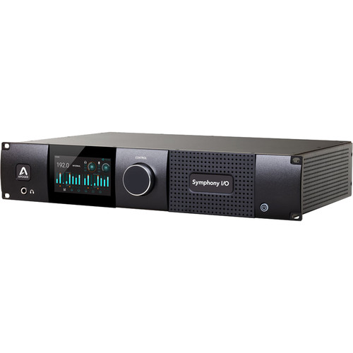 Apogee Electronics Symphony I/O Mk II SoundGrid Chassis with 24x24 Analog I/O and 8x8 Digital I/O