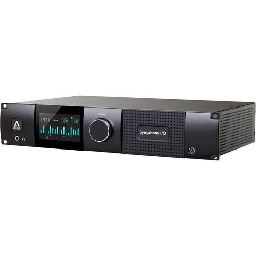 Apogee Electronics Symphony I/O Mk II Dante / Pro Tools Audio Interface with 8x8 Analog I/O, 8x8 Digital I/O, and 8 Microphone Preamps