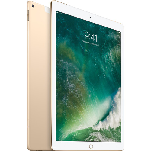 "Apple 12.9"" iPad Pro (128GB, Wi-Fi + 4G LTE, Gold)"