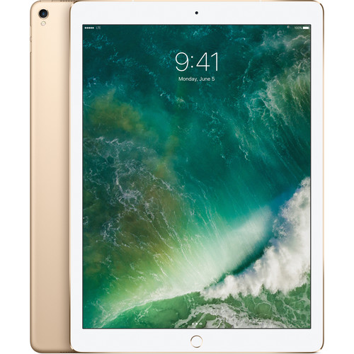 """Apple 12.9"""" iPad Pro (Mid 2017, 512GB, Wi-Fi + 4G LTE, Gold)"""