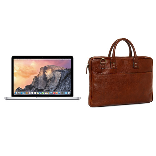 "Apple 13.3"" MacBook Pro and Briefcase Kit (Walnut)"