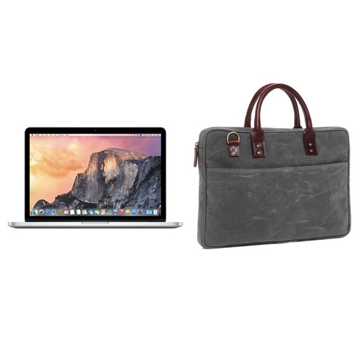 "Apple 13.3"" MacBook Pro and Briefcase Kit (Smoke)"