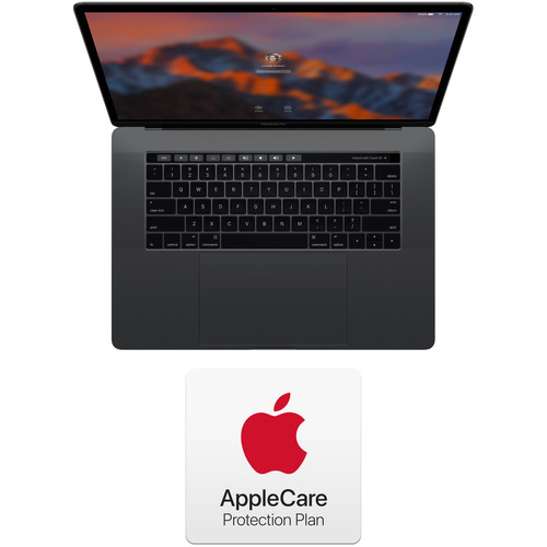 """Apple 15.4"""" MacBook Pro with Touch Bar Kit with AppleCare+ (Late 2016, Space Gray)"""