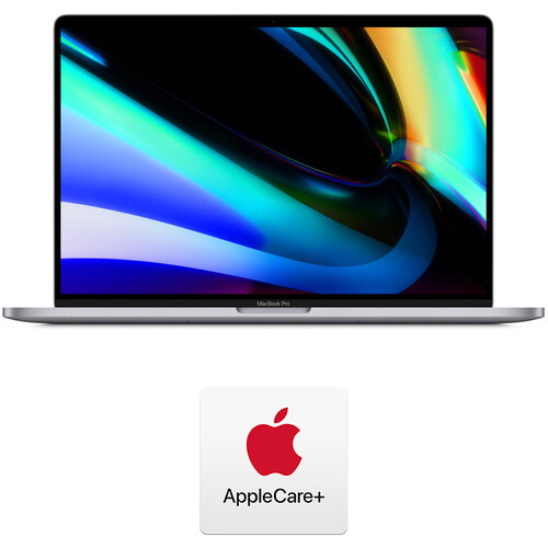 """Apple 16"""" MacBook Pro (Late 2019, Space Gray) and AppleCare+ Protection Plan"""
