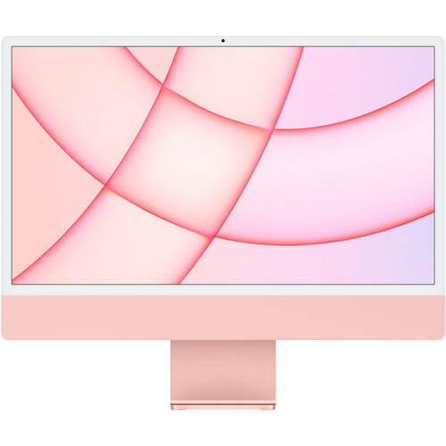 """Apple 24"""" iMac with M1 Chip (Mid 2021, Pink)"""