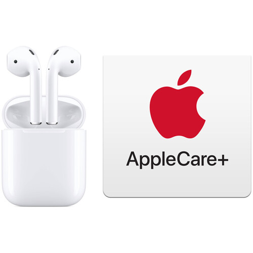 Apple AirPods with Charging Case (2nd Generation) & AppleCare+