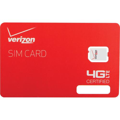 Apple Verizon 4G LTE 4FF Nano SIM Card